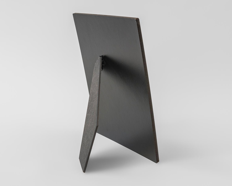 Portrait Table top photo panel easel
