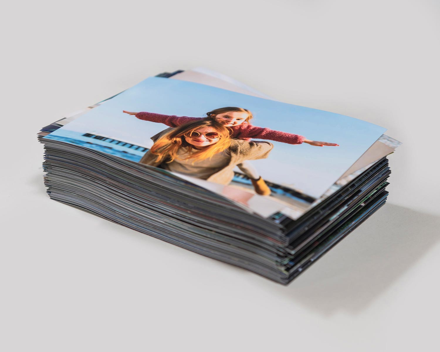Stack of 6x4 photo prints