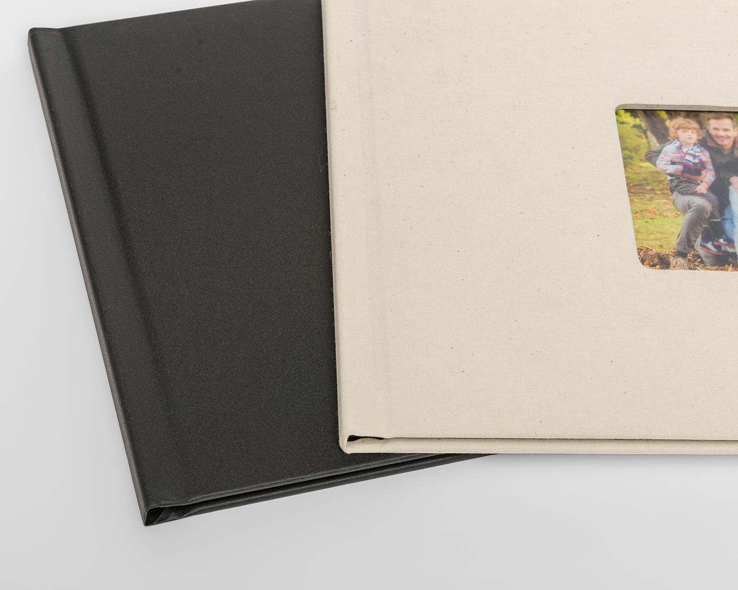 Photobook cover options