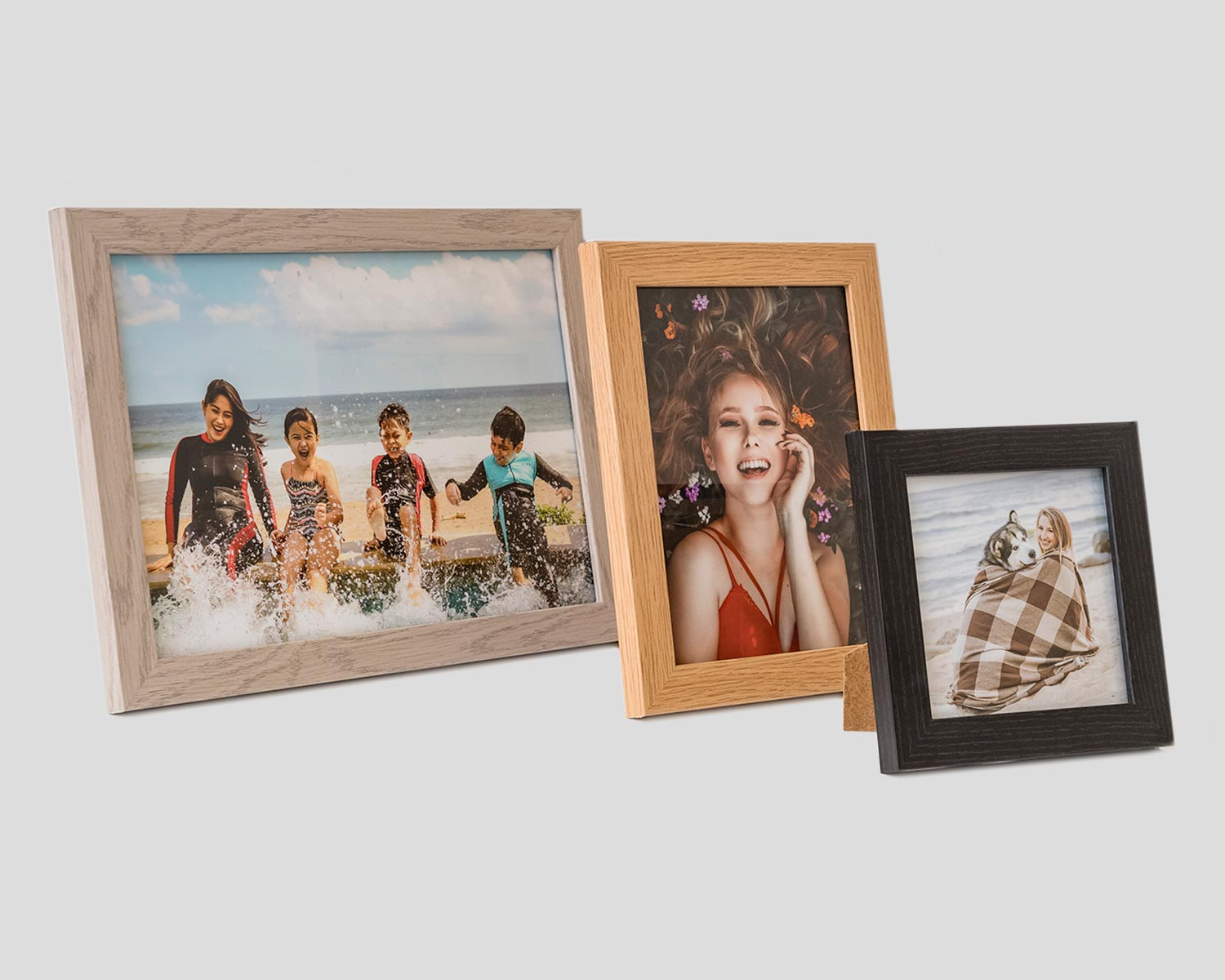 Photo Frames with printed photographs