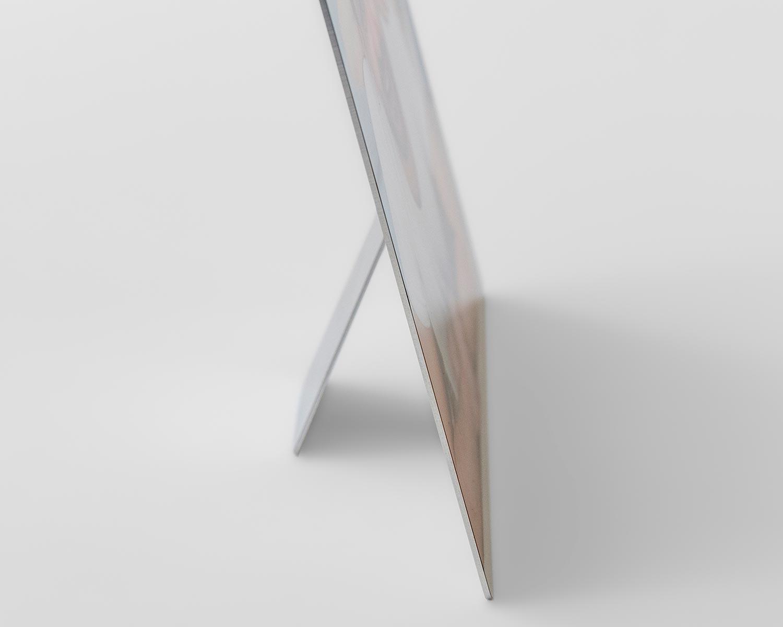 Metal print edge