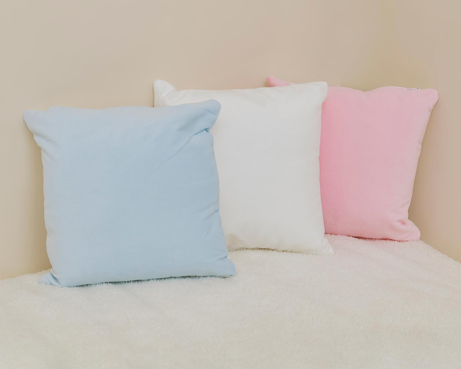 Range of soft cushion styles