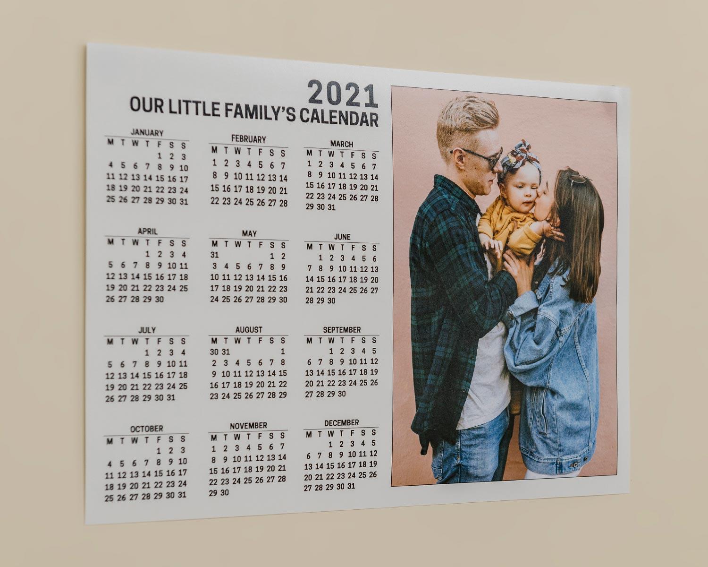 Landscape Poster Calendar
