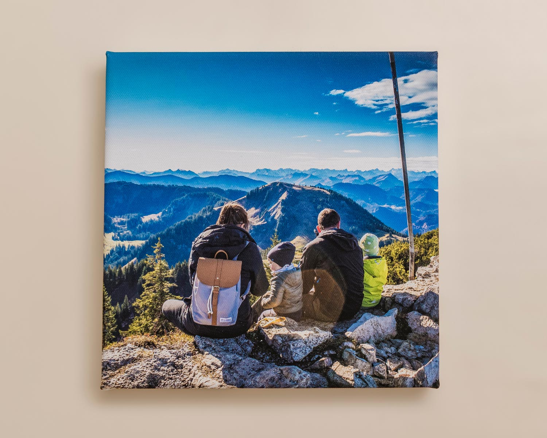Square photo canvas