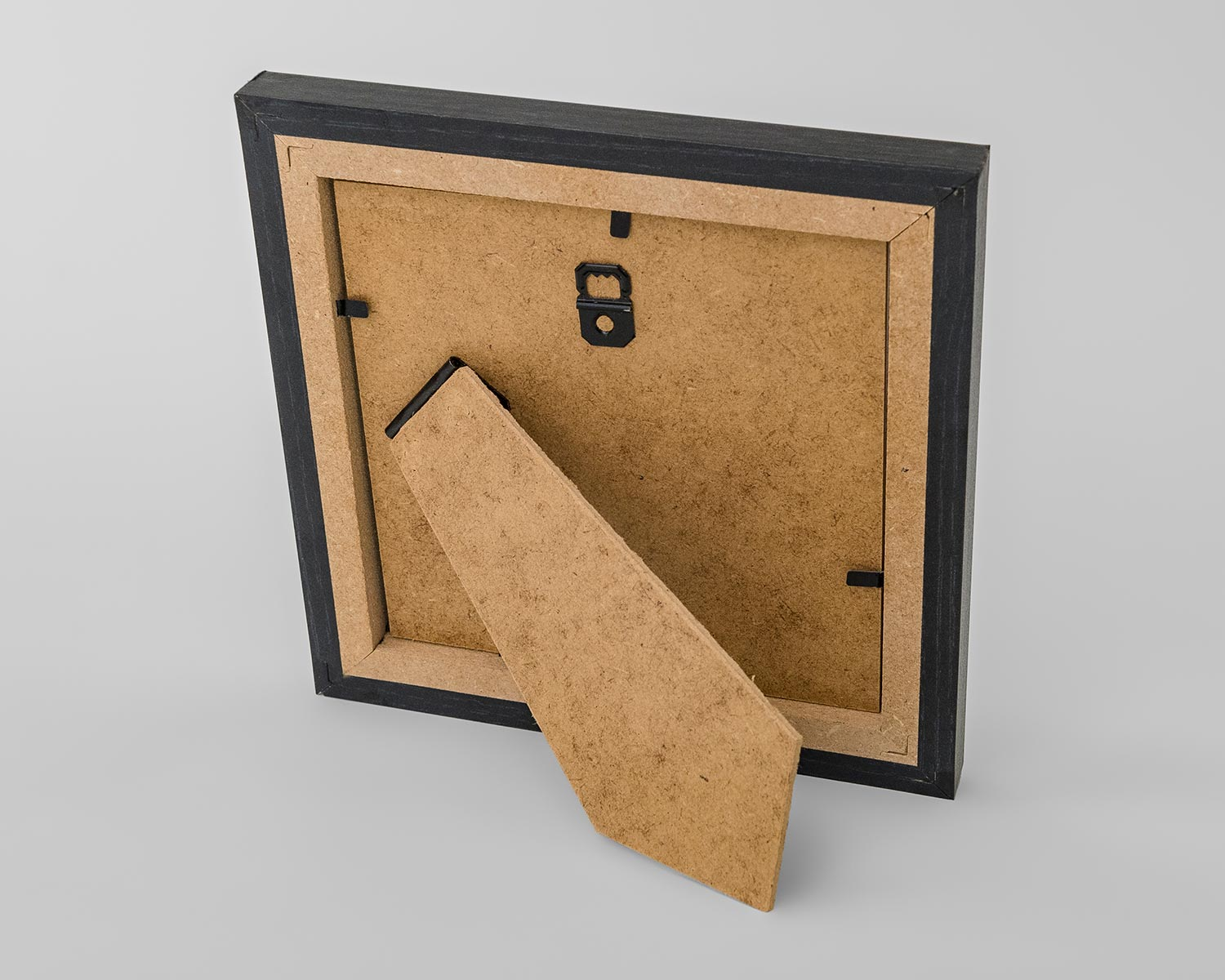 Rear stand of photo frame
