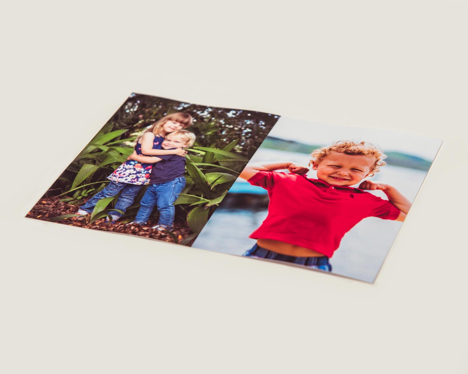 2 picture layout mini print