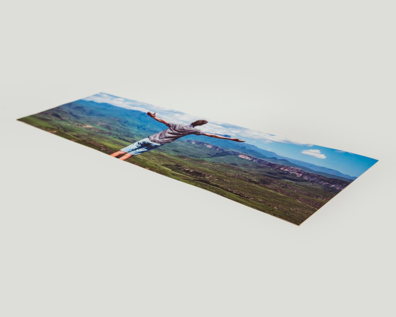 Photo printed panorama