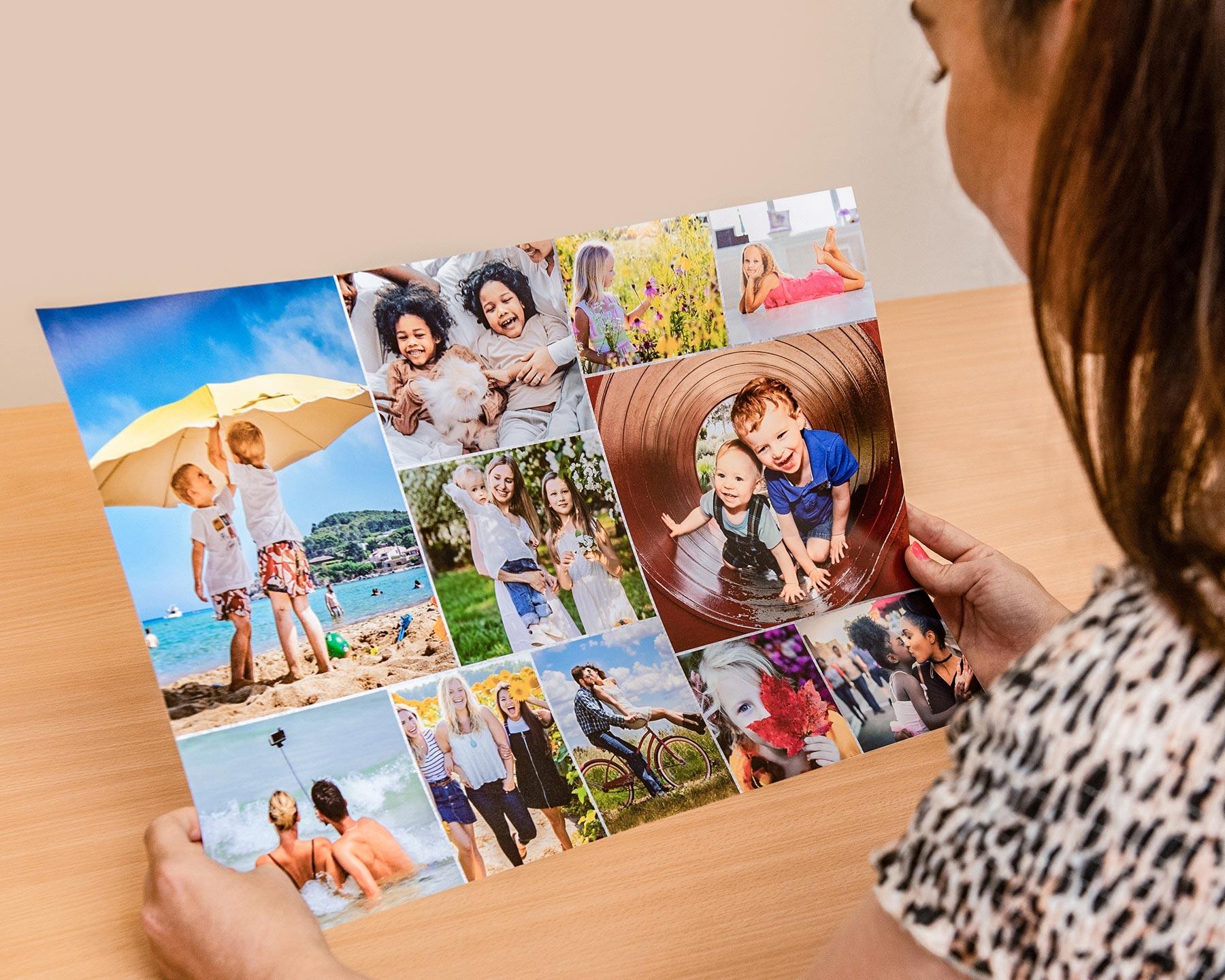 Admiring-Printed-Photo-Collage
