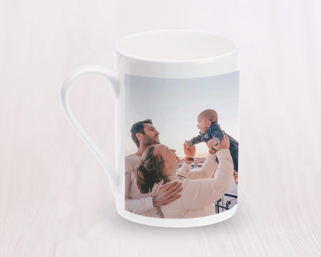 China photo mug