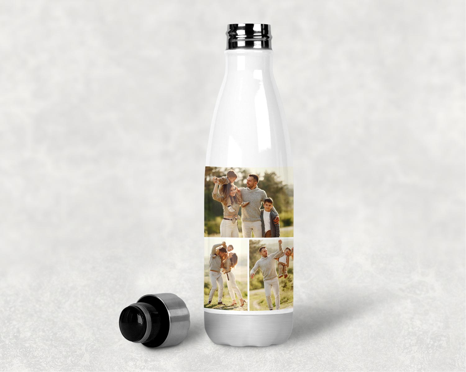 Personalised Collage Water Bottle