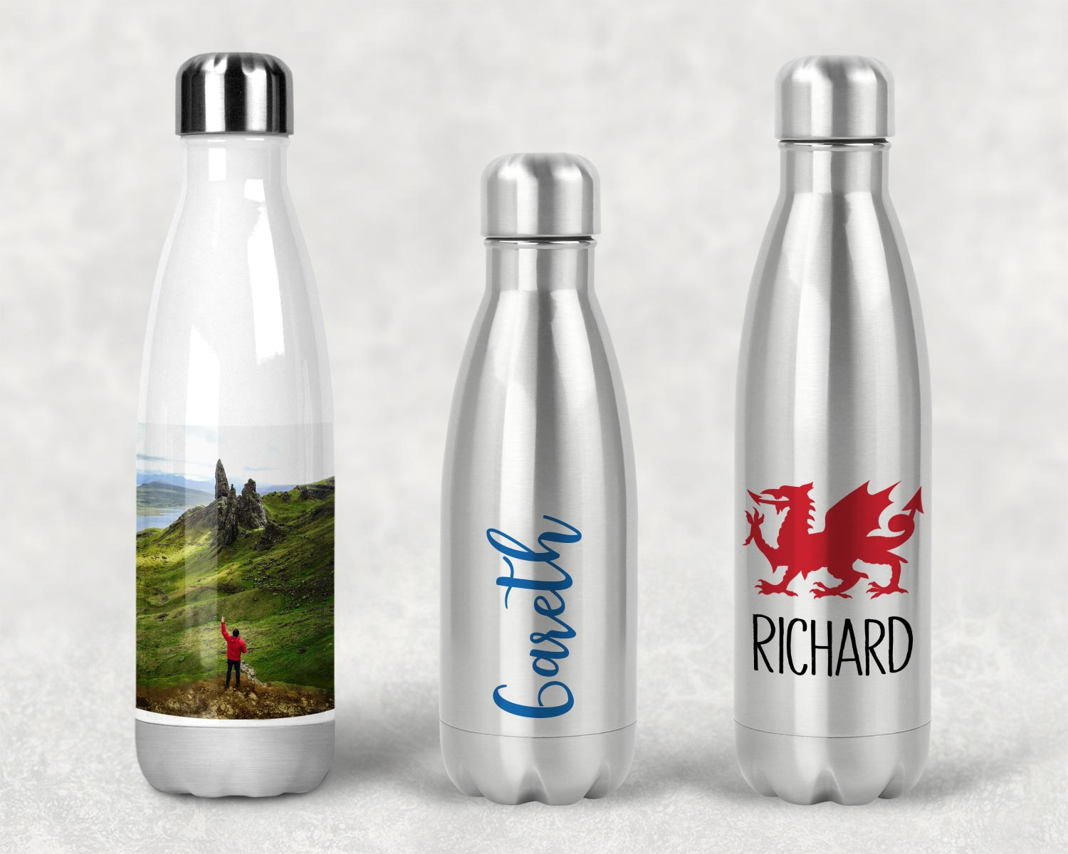 Insulated personalised water bottles