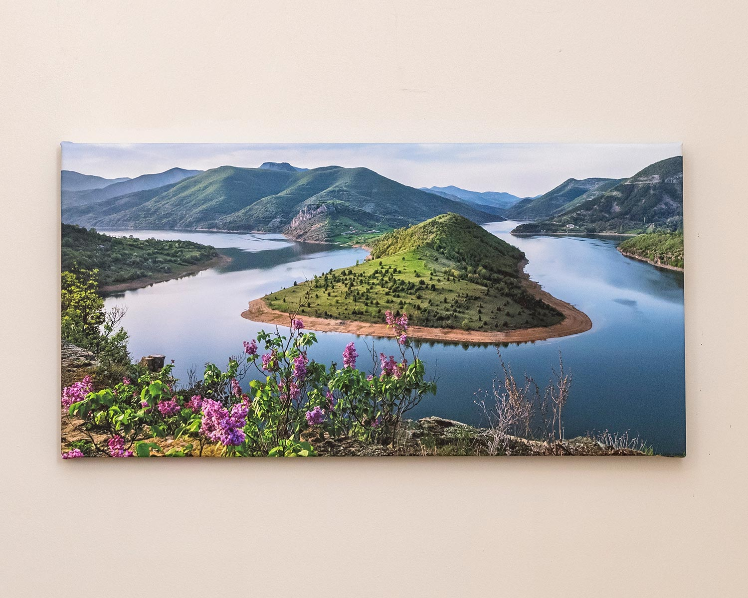 Panoramic Photo Canvas
