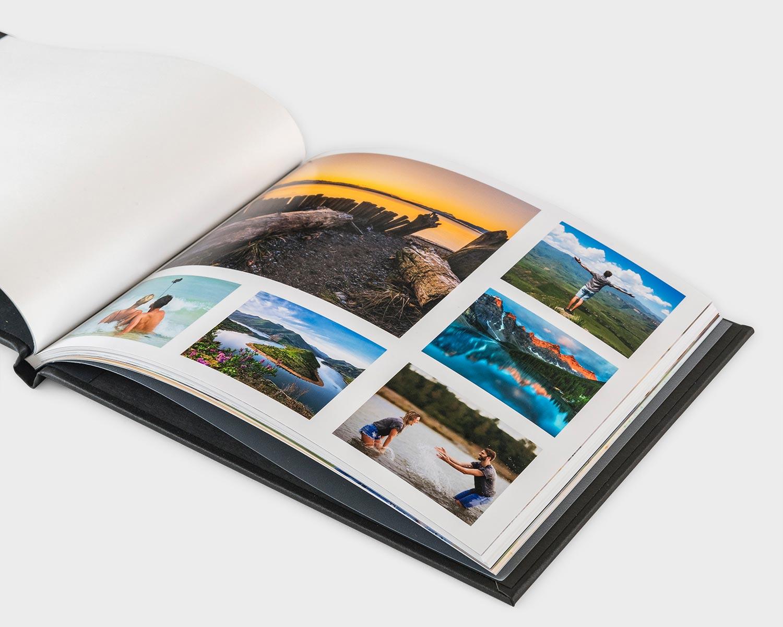 Premium photobook pages
